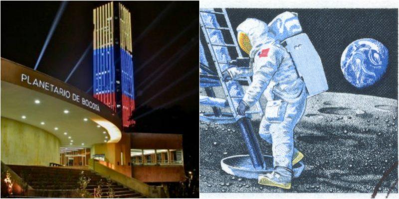 planetario de bogota eventos gratis viaje del hombre a la luna julio 20