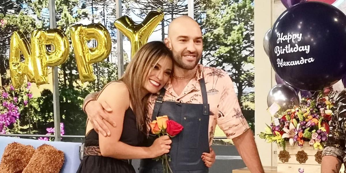 Alexandra Santos y Leo Cocinero
