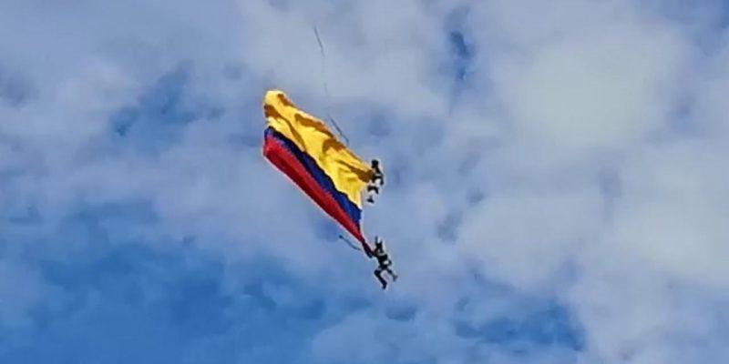 Dos militares mueren al caer de un helicóptero en Colombia