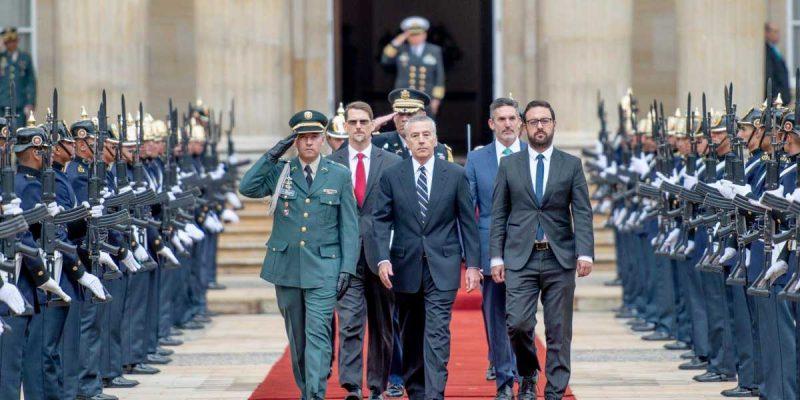Nuevo embajador de EE.UU. entregó sus credenciales al presidente Duque