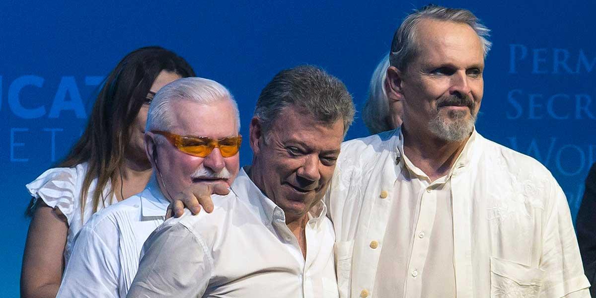 César Acuña participó en cumbre de Premios Nobel en México