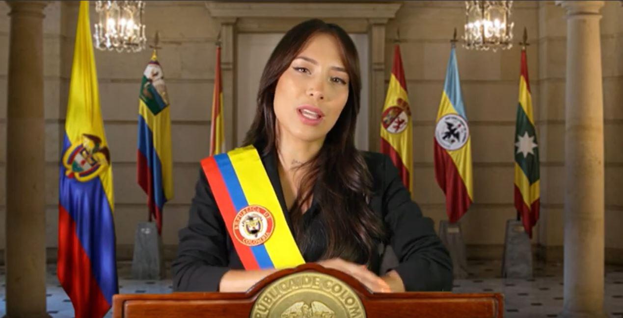"""(Video) Primera alocución de Luisa Fernanda W: """"si no votan, no se quejen"""""""