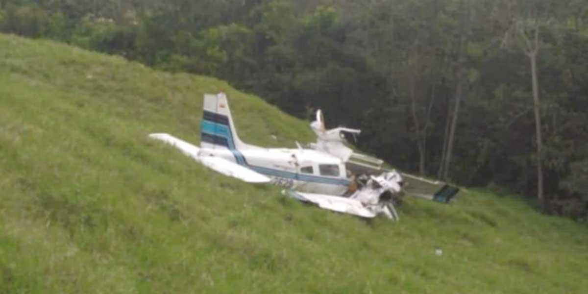 Tragedia aérea en Santander: tres personas murieron tras choque en Lebrija