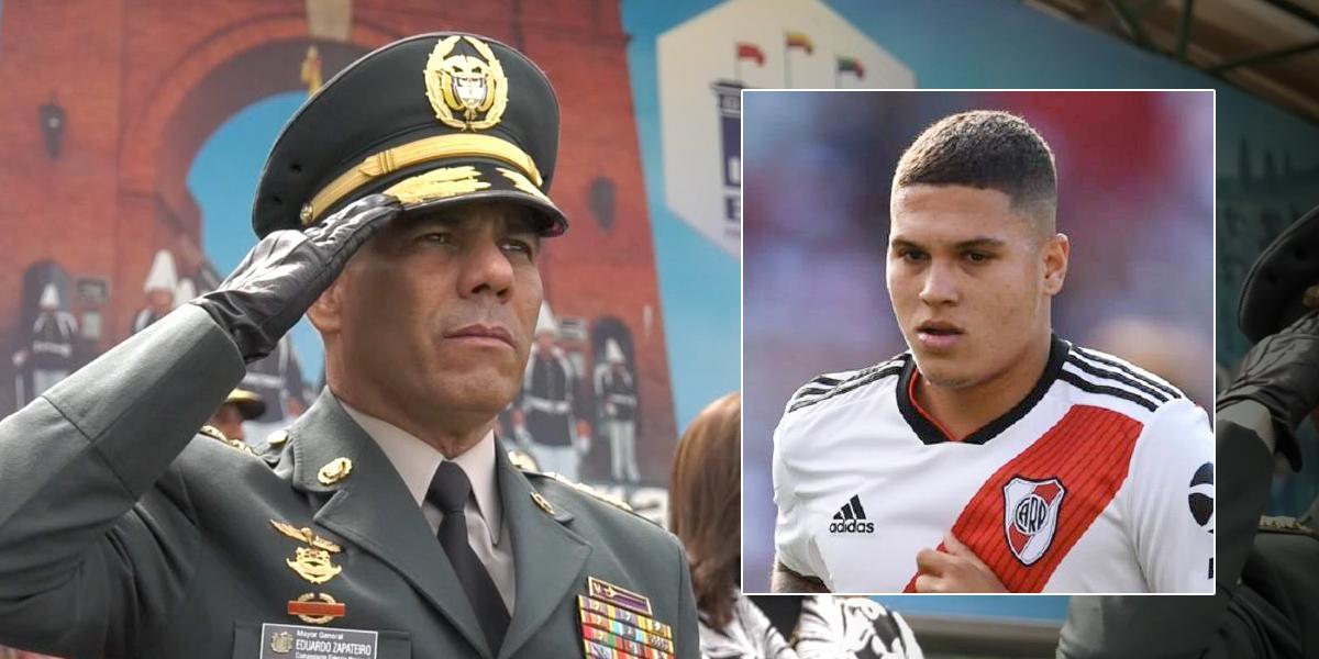 Mensaje del nuevo comandante del Ejército a 'Juanfer' Quintero por desaparición de su padre