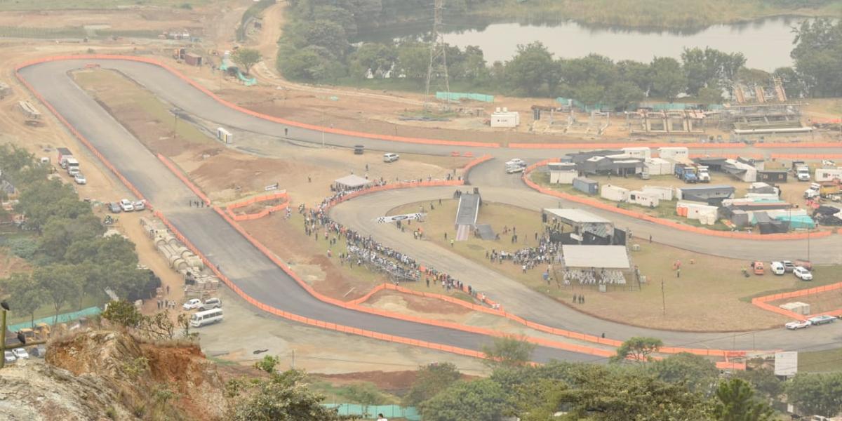 Se entregó pista con requisitos para Fórmula 1 en Bello, Antioquia