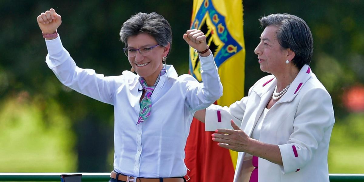 Así fue la posesión de la nueva alcaldesa de Bogotá, Claudia López