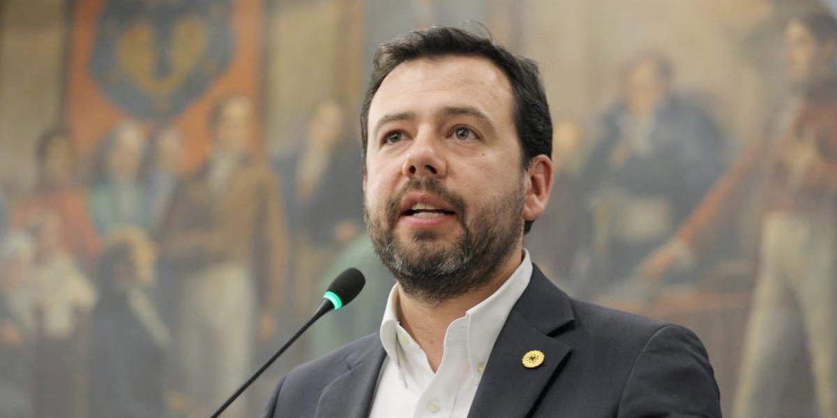 Carlos Fernando Galán, nuevo presidente del Concejo de Bogotá