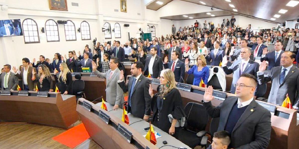 Así quedó conformado el Concejo de Bogotá 2020-2023