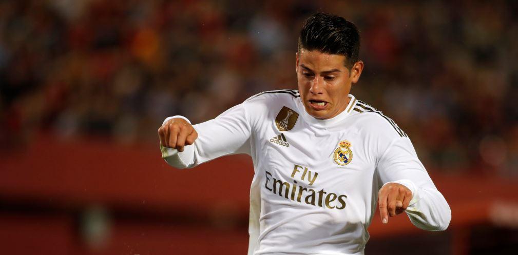James Rodríguez podría rescindir su contrato con Real Madrid