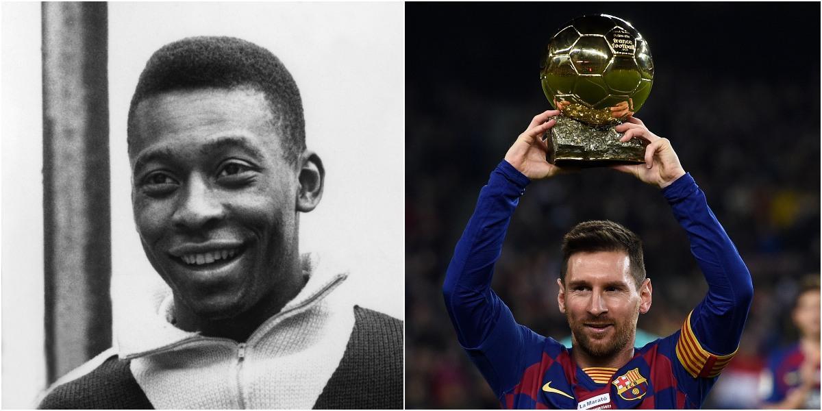 lionel messi record goleador de la historia pele