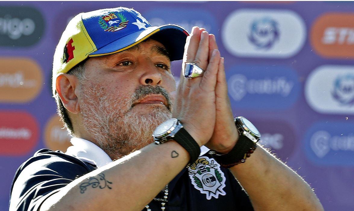 Maradona podría ser el reemplazo de Rafael Dudamel en Venezuela