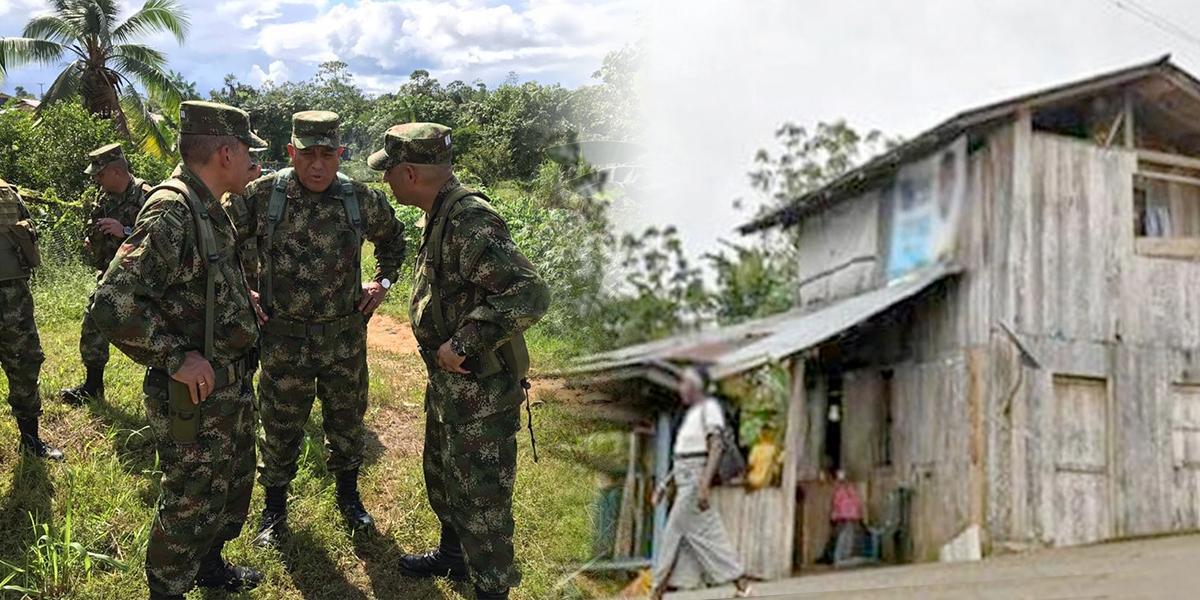 Las medidas de seguridad de las Fuerzas Militares para Bojayá
