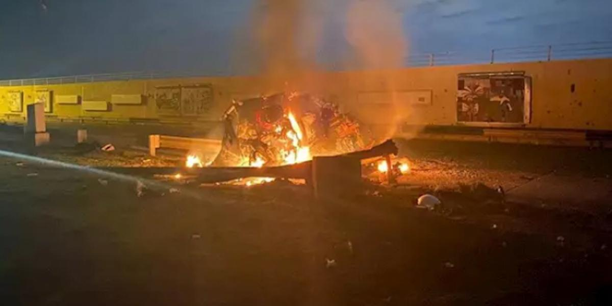 Ocho muertos por cohetes que impactaron aeropuerto de Bagdad