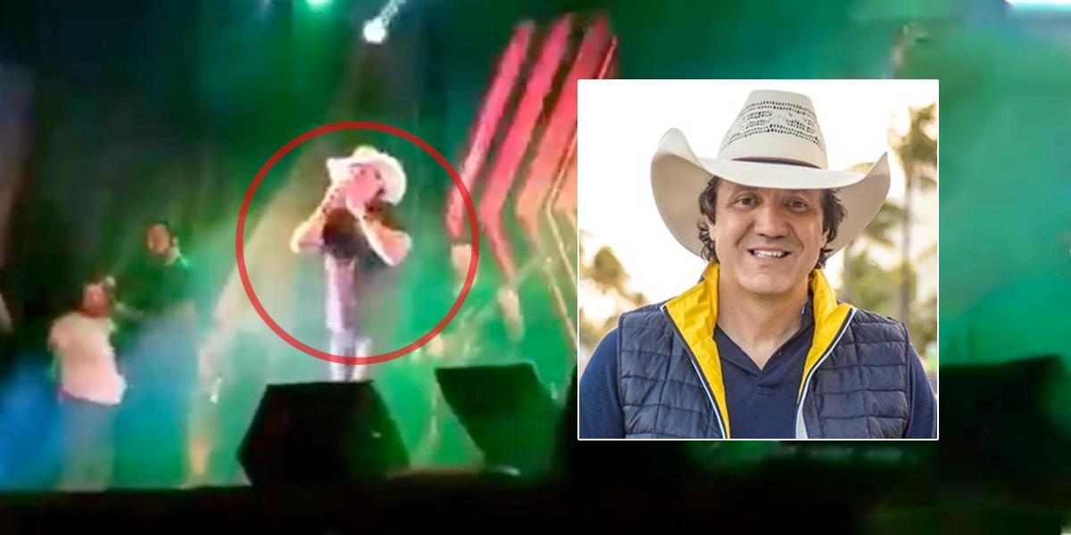 Video | Cantante brasileño muere en pleno concierto