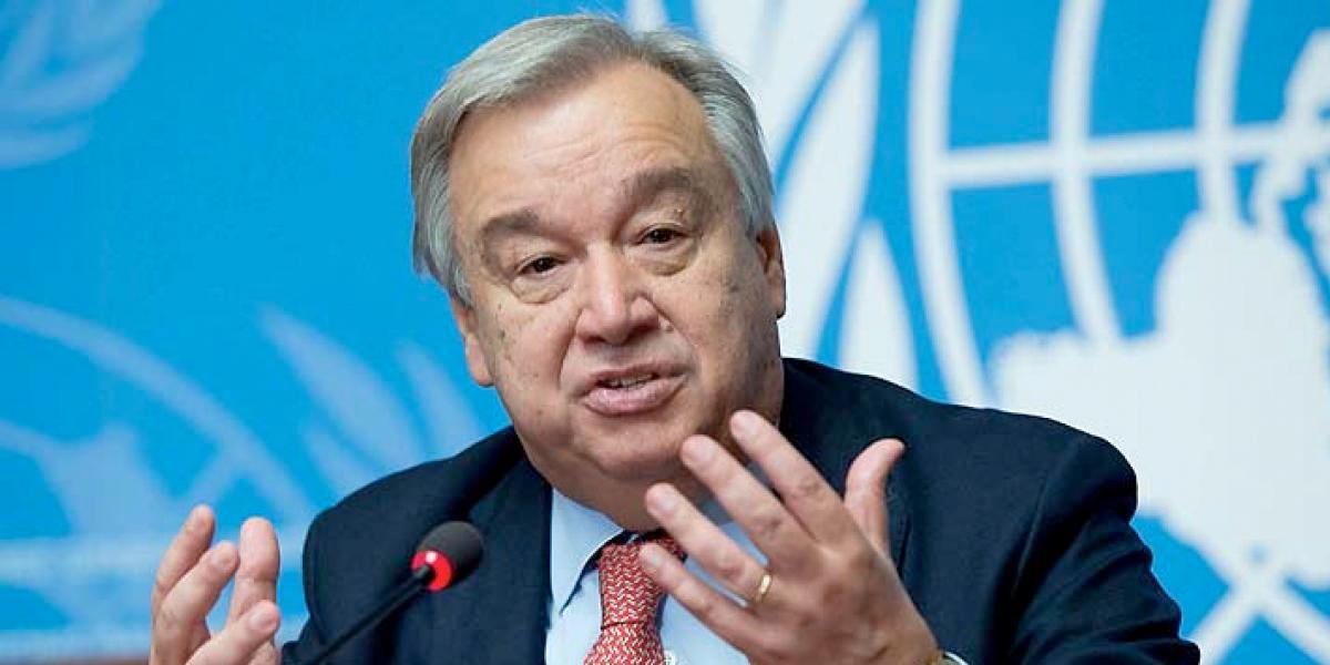 El jefe de la ONU pide «detener la escalada» de tensiones