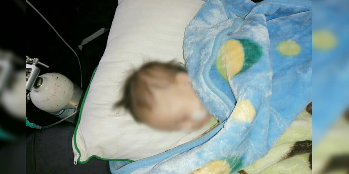 Policía rescató bebé con síndrome de Down, en presuntas condiciones de negligencia