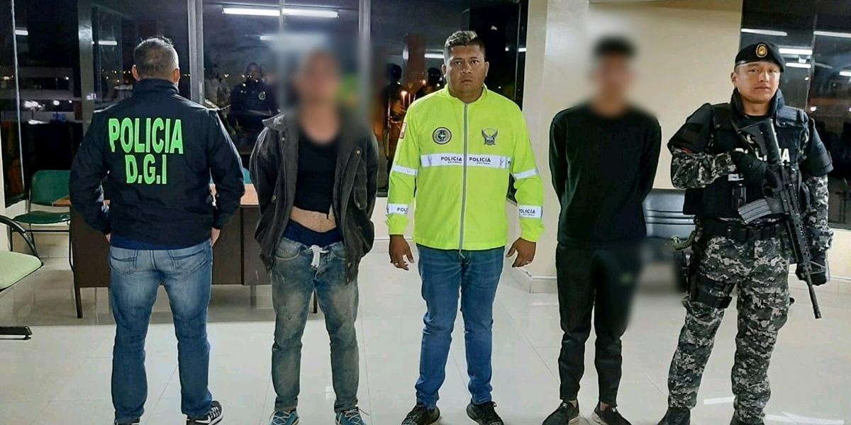 Capturan en Ecuador a dos implicados en asesinato de un policía en medio de fuga