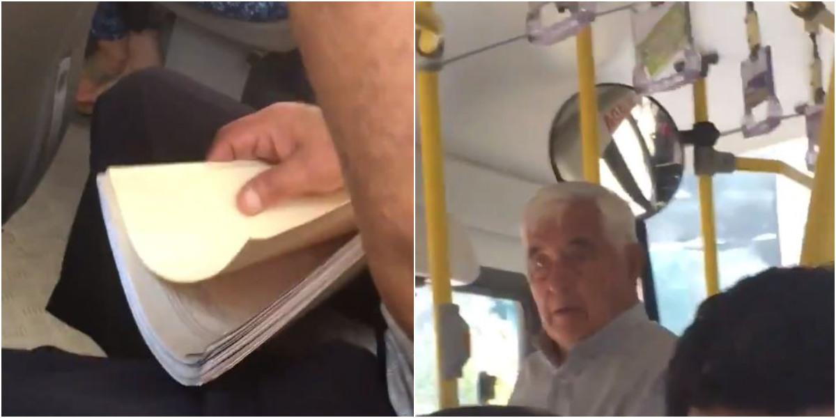 joven sufre acoso sexual se le masturban en un bus en peru