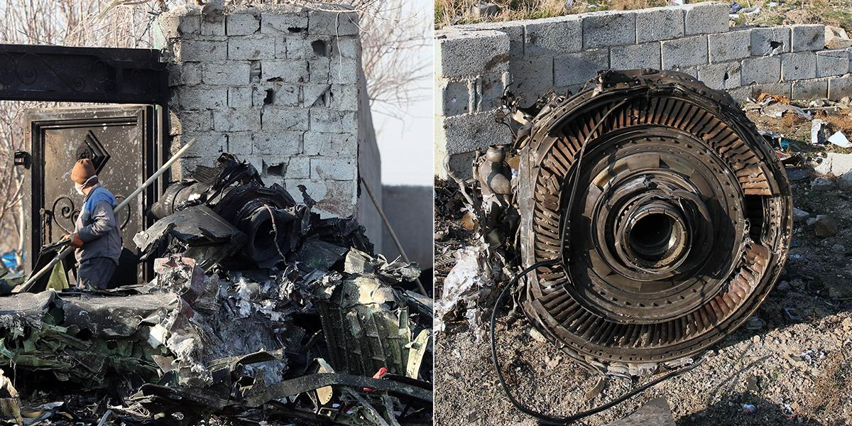 Accidente aéreo en Teherán deja más de 170 personas muertas