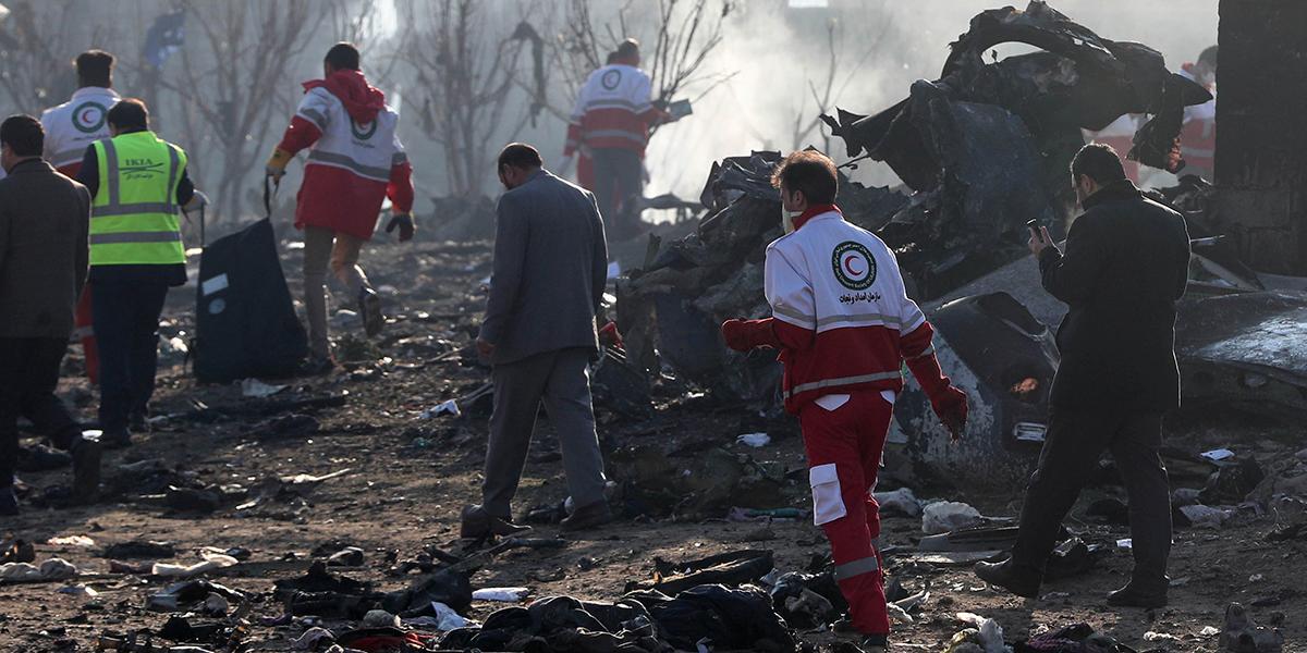 Irán no entregará cajas negras a EE. UU. del avión accidentado