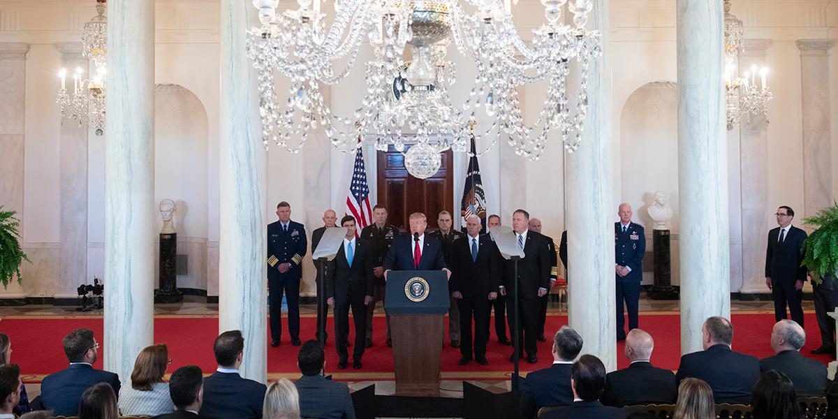 En resumen: el discurso de Trump tras ataque de Irán a sus bases en Irak