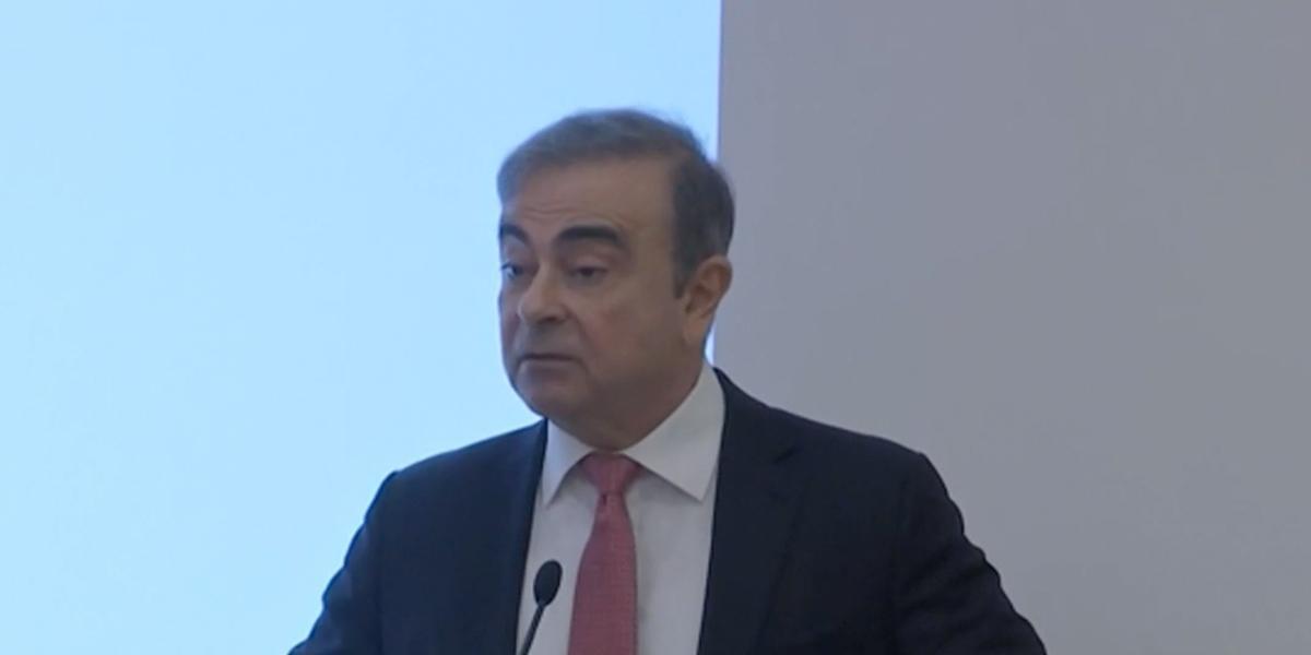 Carlos Ghosn acusa a Nissan y a la Fiscalía japonesa de persecución política