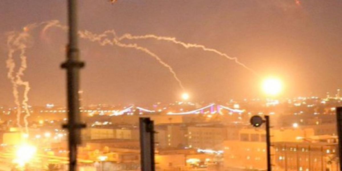 Tres misiles impactaron en el centro de Bagdad, Irak
