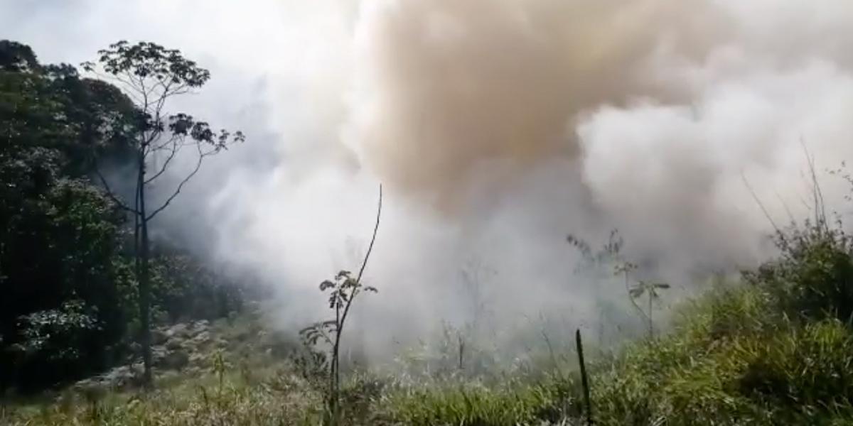 Ocho alertas rojas por heladas y siete por incendios forestales en Antioquia