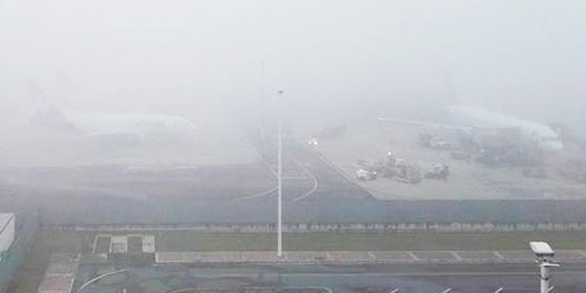 En inicio de año, neblinas están afectando operaciones aéreas en el país