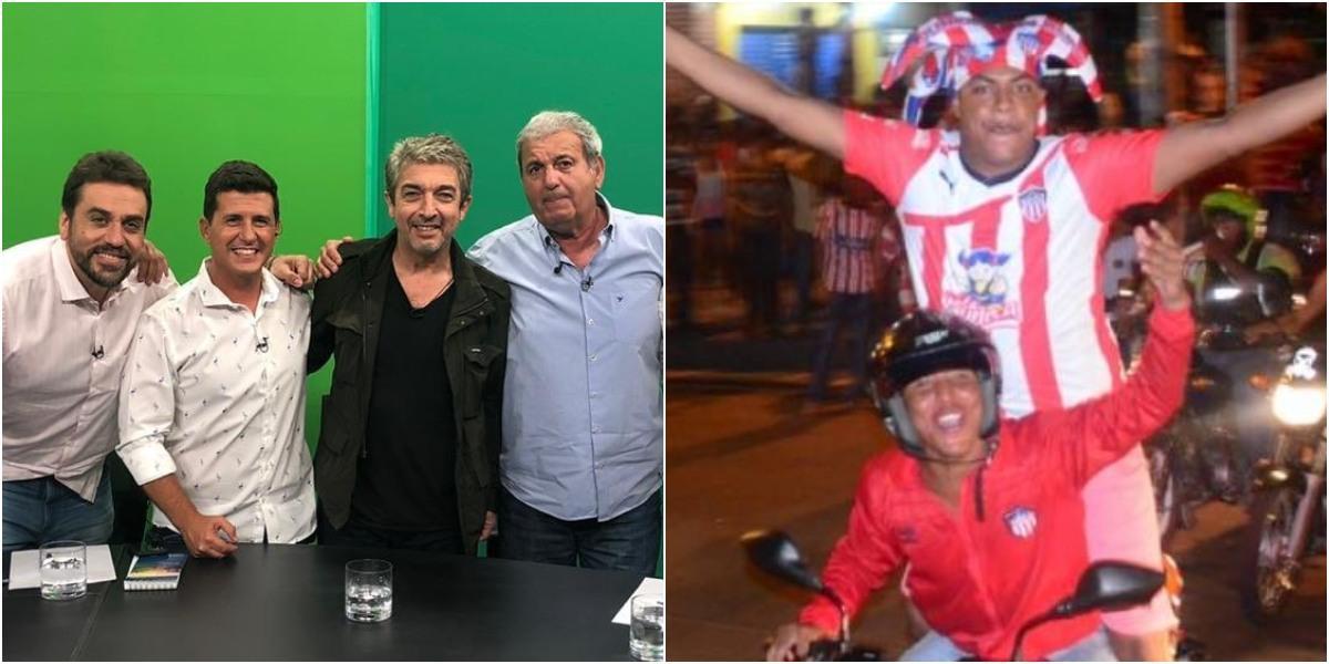 periodista argentino ofende al junior copa libertadores