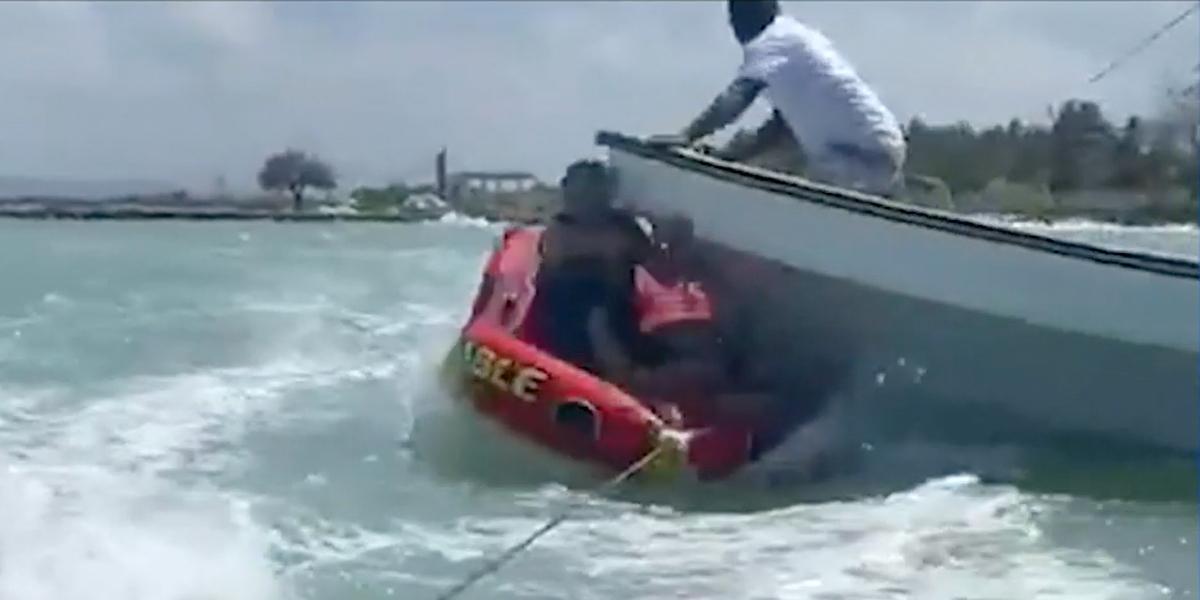 Lancheros de Choloncito involucrados en accidente se presentan ante las autoridades