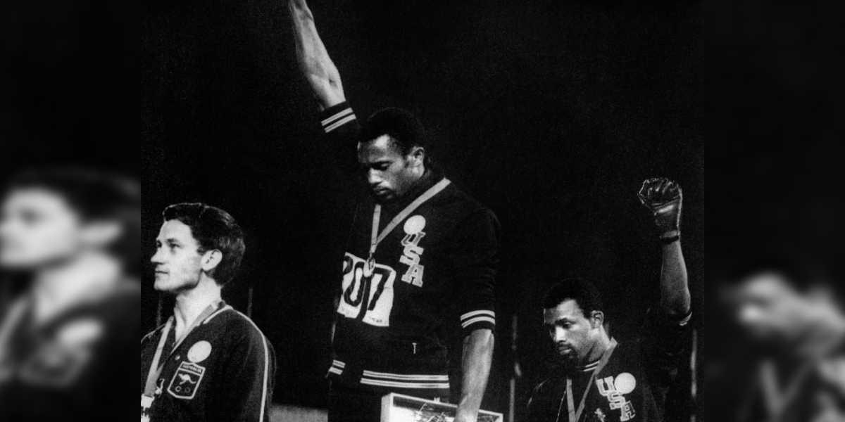 prohiben protestas en los juegos olimpicos de tokio 2020 Tommie Smith