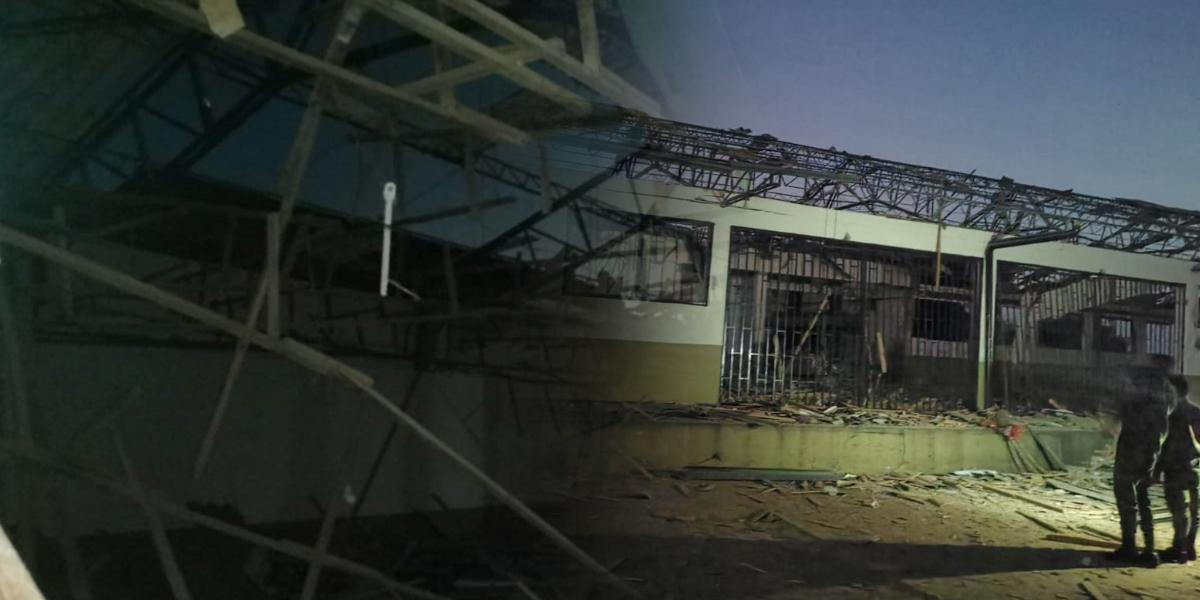 Atacan con artefactos explosivos cantón militar en Tame, Arauca