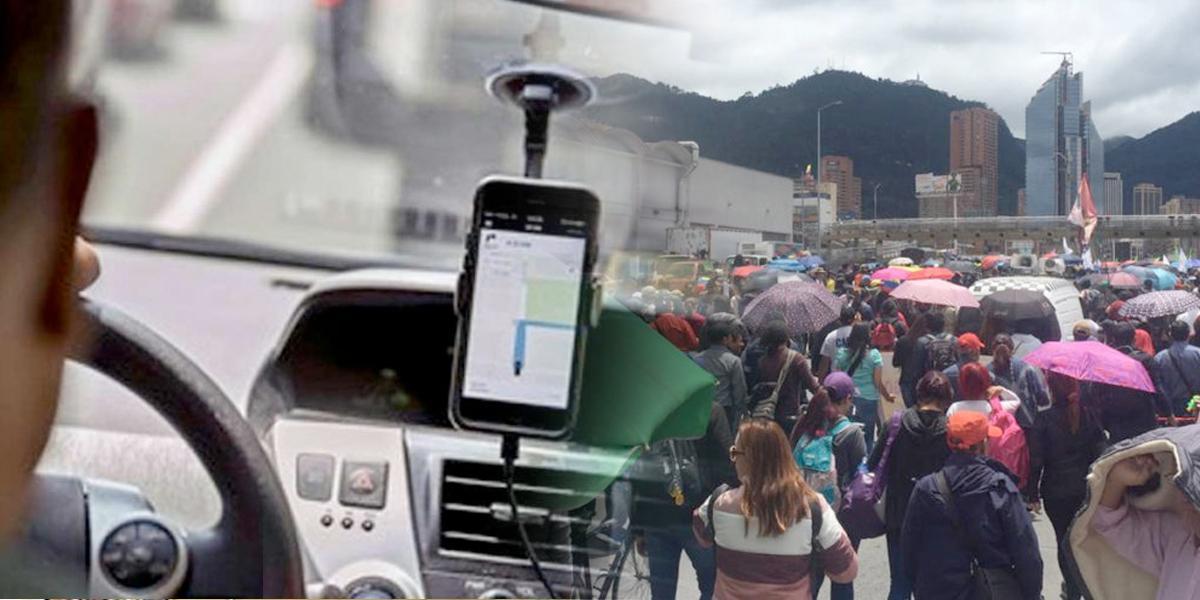 Conductores de Uber migran a otras 32 plataformas y se unirán al paro