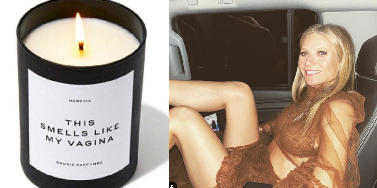 Gwyneth Paltrow causa conmoción vendiendo velas con olor a su parte íntima