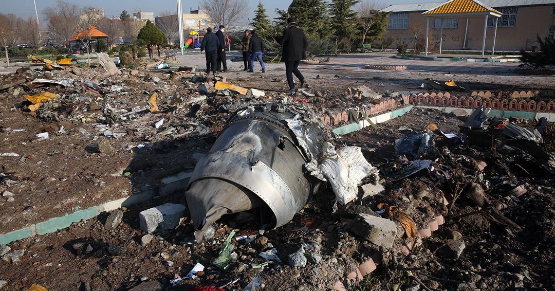 Justicia iraní anuncia arrestos tras tragedia de avión derribado por misil