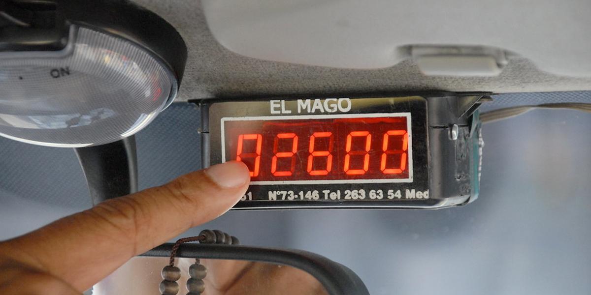 Por adulterar taxímetros, 35 taxistas han sido sancionados este año