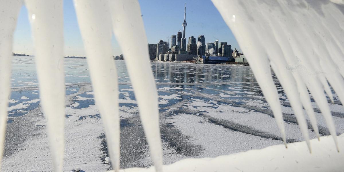 El oeste de Canadá se congela con temperaturas de hasta – 50 grados