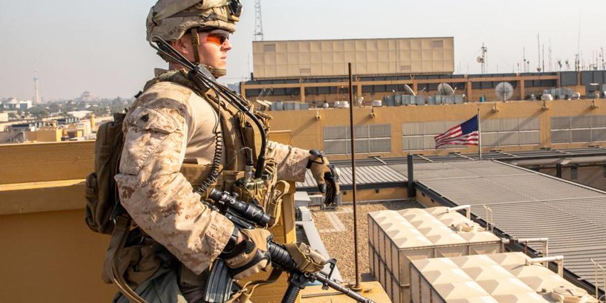 Bombardean base iraquí con presencia de tropas de EE. UU.