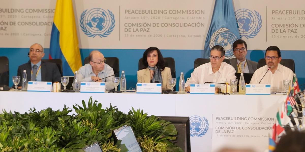 ONU analiza buenas prácticas para financiar consolidación de paz en Colombia