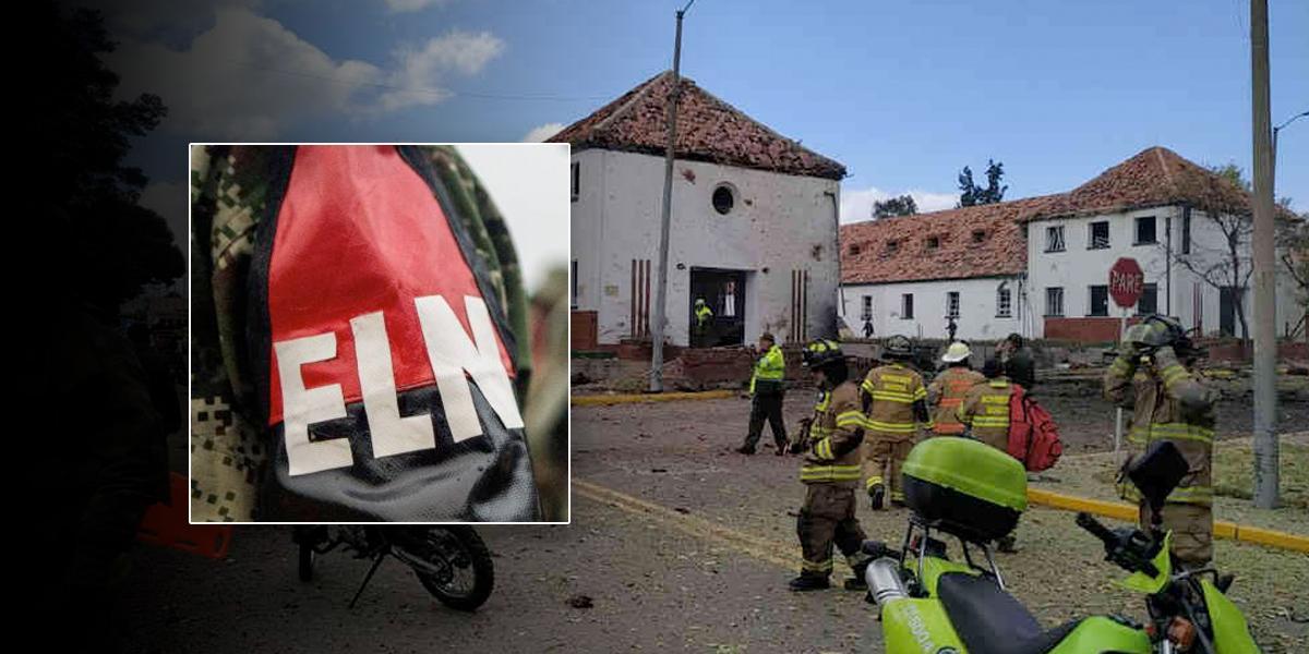 Imputarán cargos al Comando Central del ELN por atentado en la Escuela General Santander