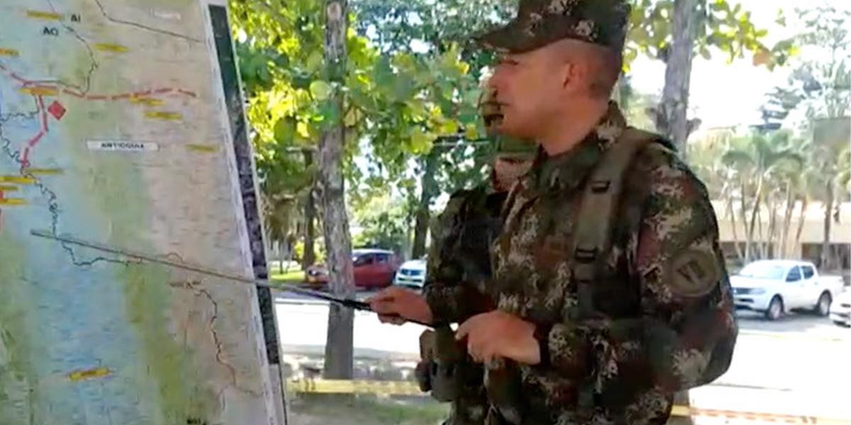 Dos policías heridos deja combate contra el Clan del Golfo en Murindó, Antioquia