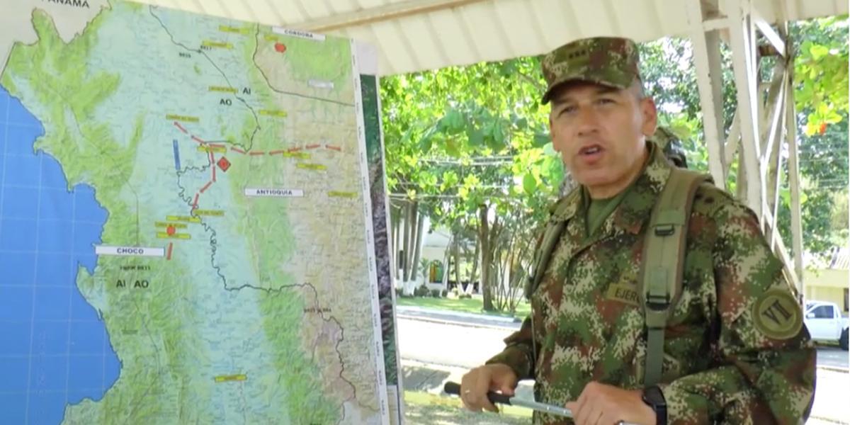 Ejército destruye campo de entrenamiento del Clan del Golfo tras operativos en Córdoba y Antioquia