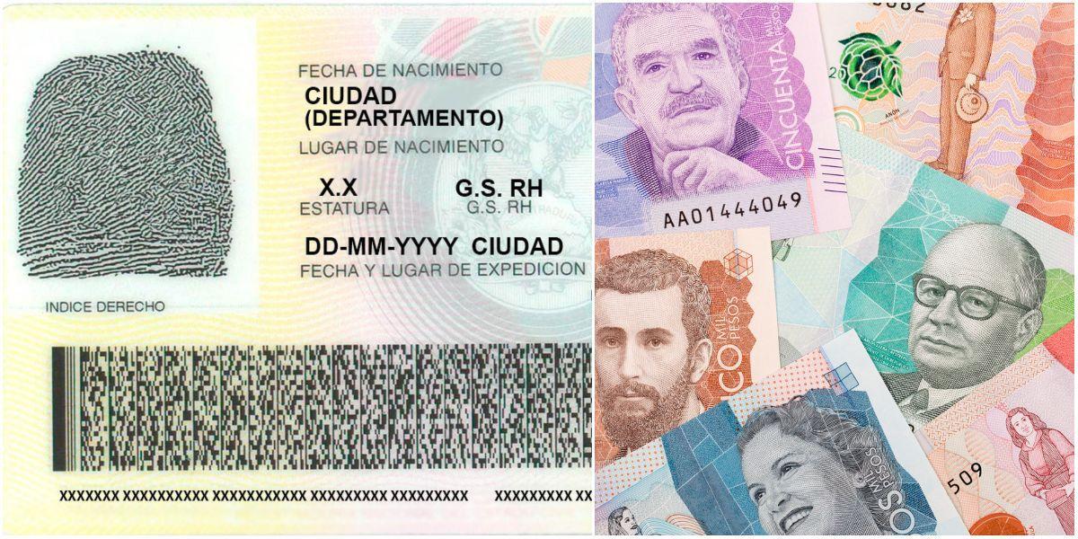 costo tramite nueva cedula digital colombia registraduria