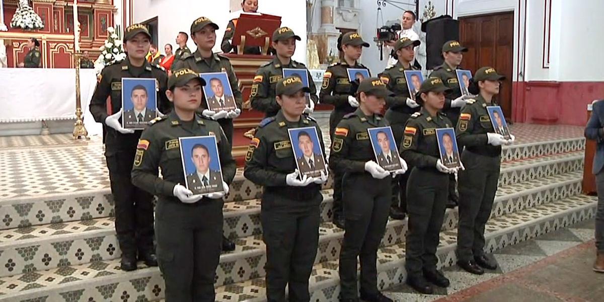 Desde Medellín realizan homenaje a cadetes asesinados hace un año