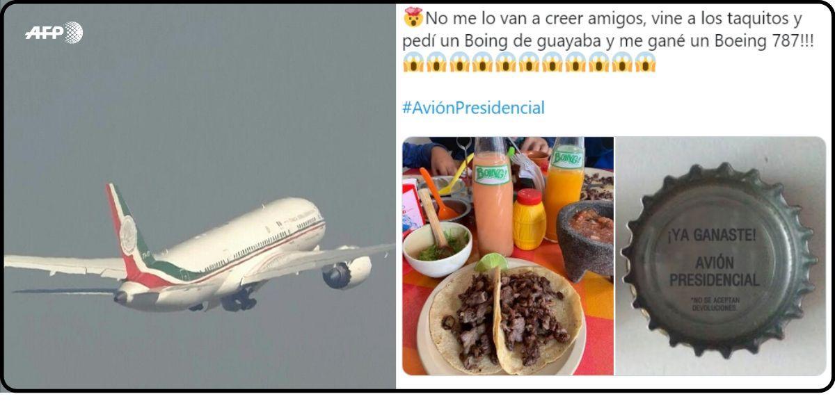 México rifa avión presidencial