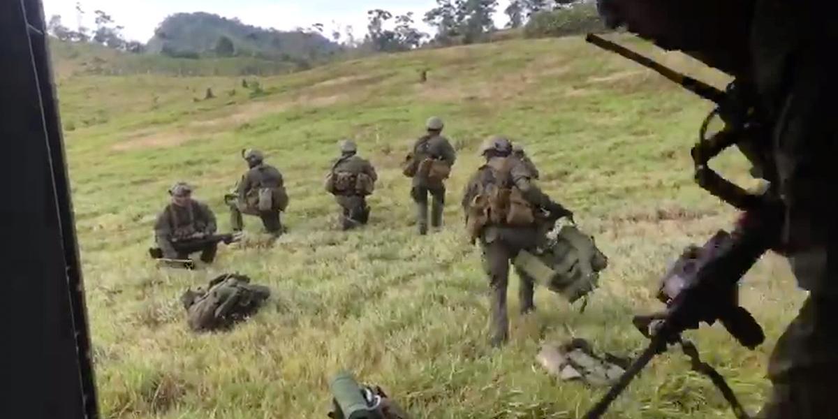 Ejército habría sido víctima de hostigamientos en Corinto, Cauca