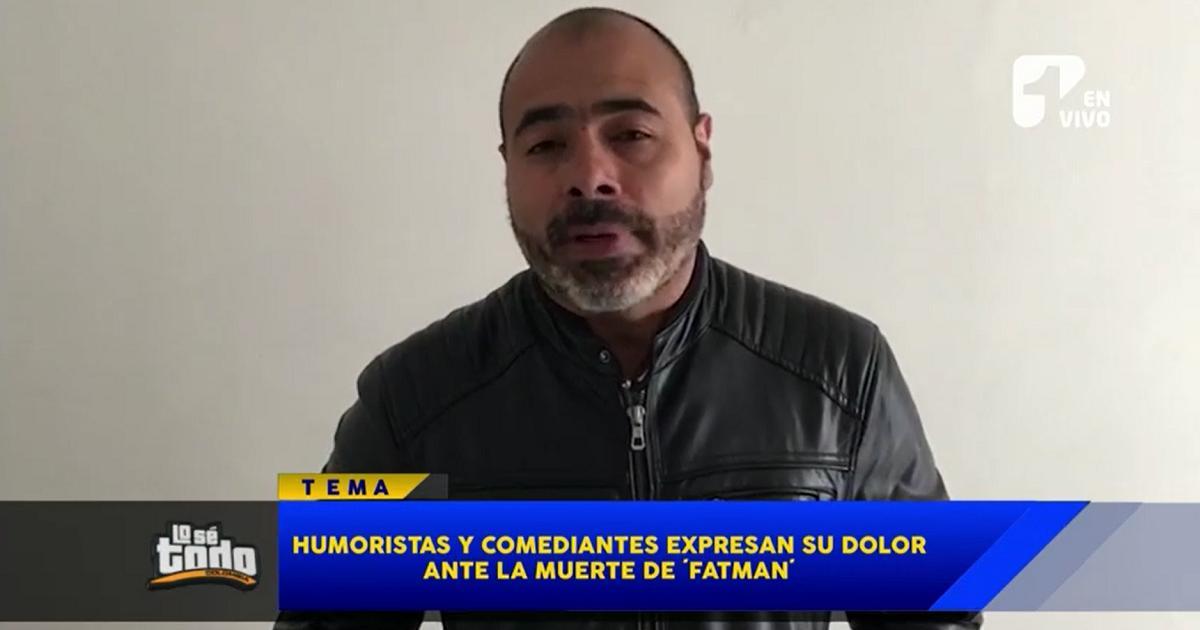 Sentidos mensajes de humoristas a 'Fatman', el comediante de Sábados Felices fallecido