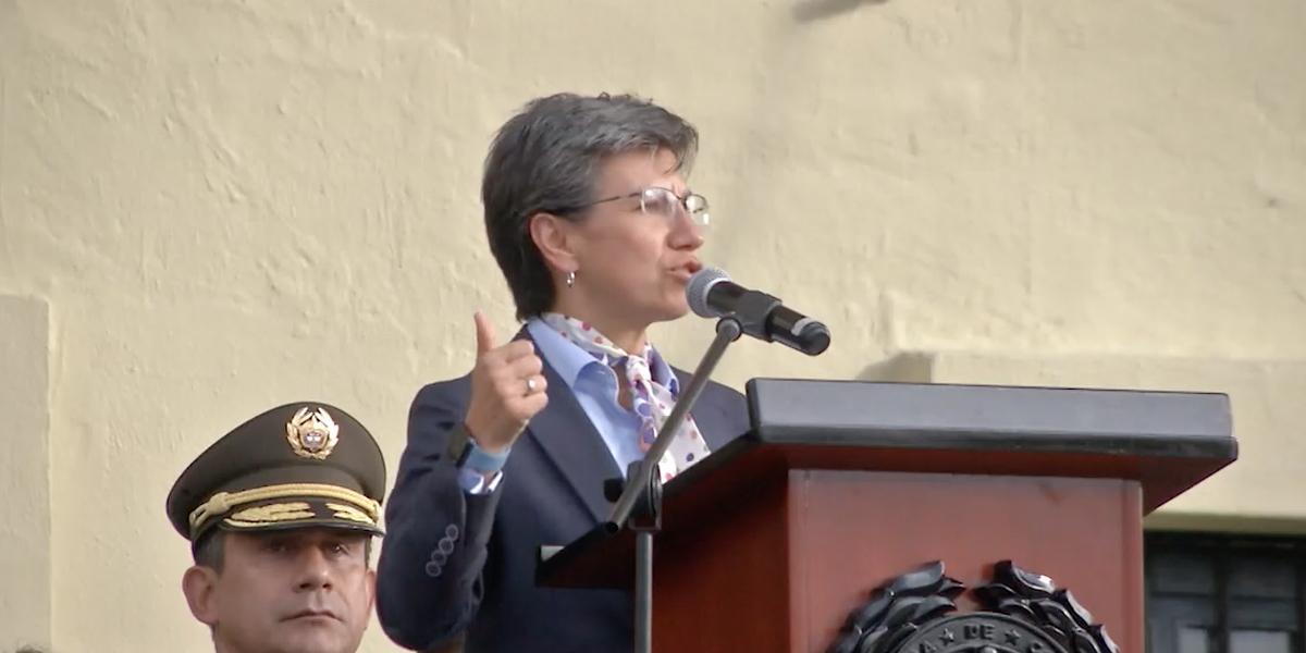 """""""El Esmad sí, pero sin abuso de fuerza"""": Claudia López de cara a movilizaciones"""