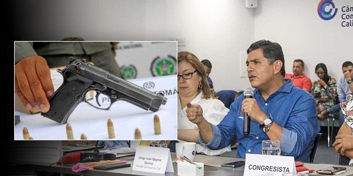Alcalde de Cali propone desarmar ciudadanos comprándoles las armas que tienen ilegalmente